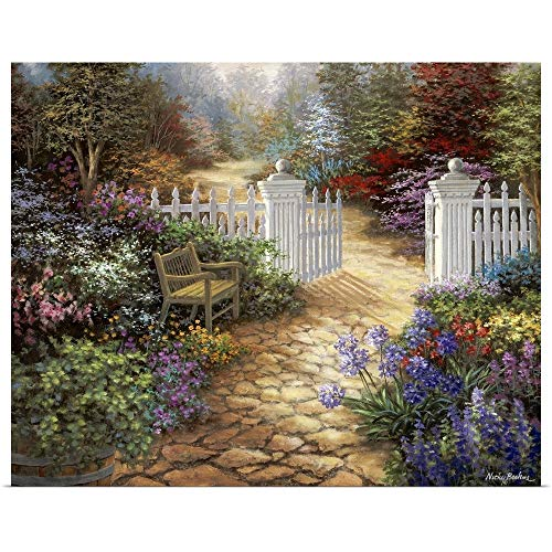 GREATBIGCANVAS Poster Print Entitled Gateway to Enchantment by Nicky Boehme 14
