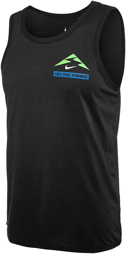 Marquesina Comparar Insatisfecho  NIKE Run P Trail Running Tank Camiseta sin Mangas, Hombre, Negro  (Black/Action Green/Photo Blue), S: Amazon.es: Deportes y aire libre