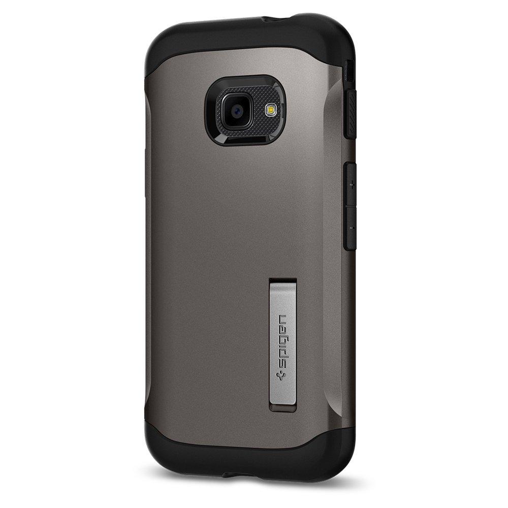 585CS23119 Funda Compatible con Samsung Galaxy Xcover 4//4S 2019 Slim Armor Spigen con Kick Stand y Protecci/ón h/íbrida contra ca/ídas para Samsung Galaxy Xcover 4//4S Negro