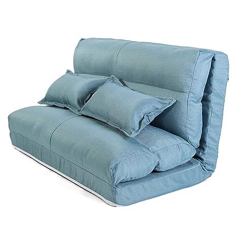 Amazon.com: PSHjs - Sofá cama doble grande, portátil, con ...