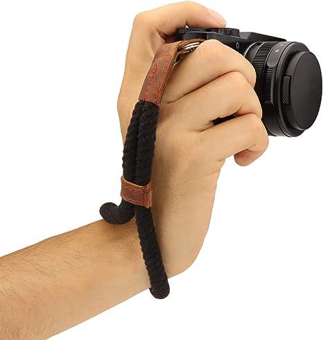 MegaGear, Correa de Mano para cámara (algodón, tamaño pequeño ...