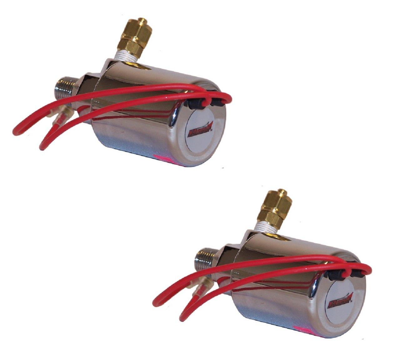 Black Kleinn Air Horns 220 Dual Train Horn
