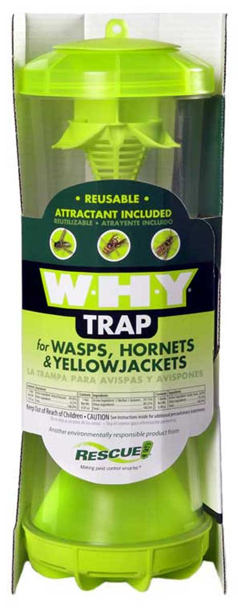 Rescue WHYTR-BB8 WHY Trap For Wasps/Hornets/Yellow Jackets (8 TRAPS) by RESCUE!
