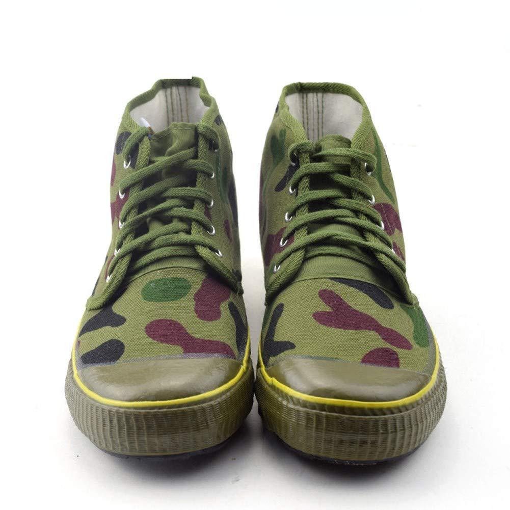 RcnryHigh Canvas Camouflage Schuhe Indoor & & & Outdoor Arbeitsversicherung Verschleißfest & Atmungsaktiv Site-Klettern Trainingsschuhe Anti-Rutsch 3ad788