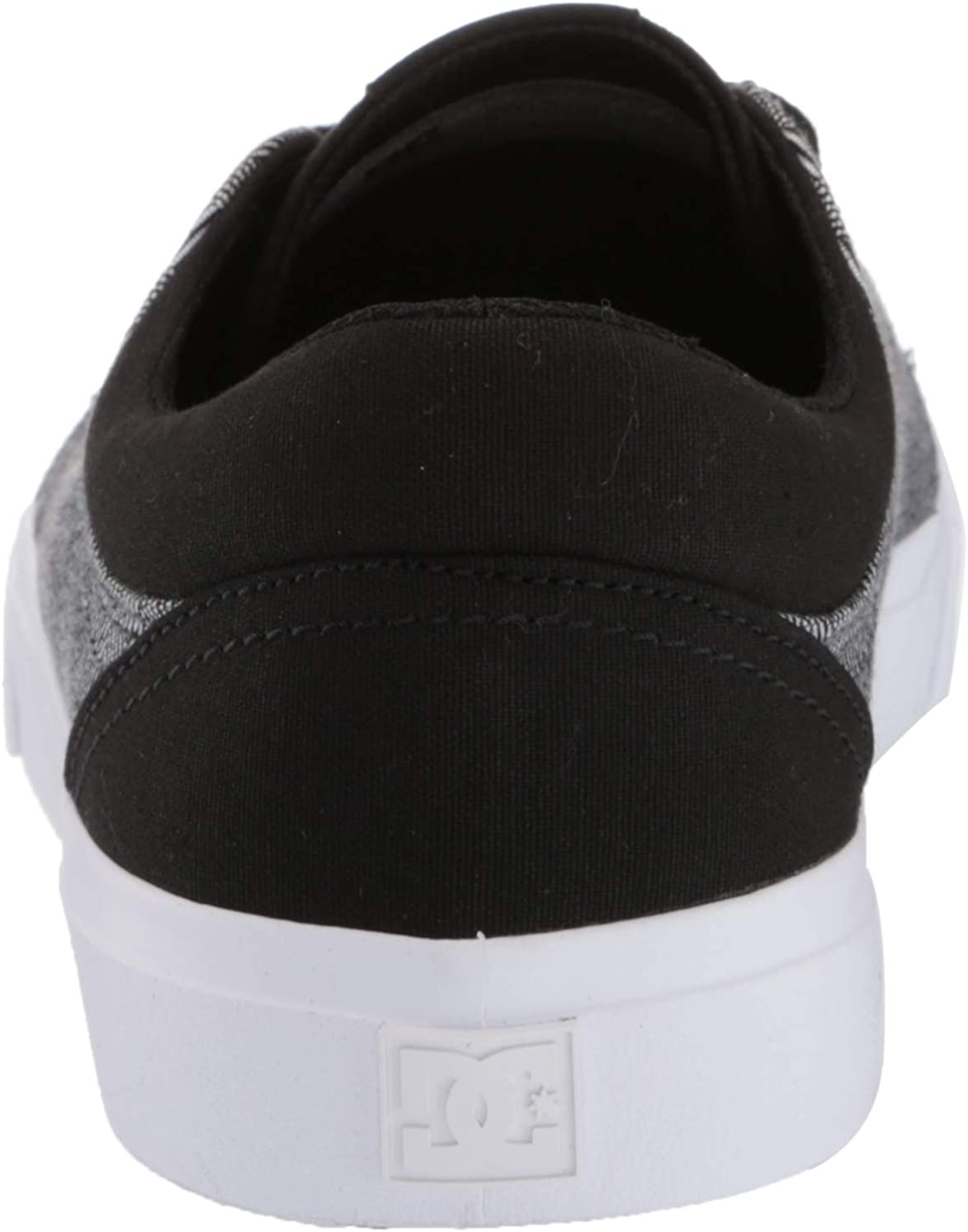 DC Men's Trase Tx Se Skate Shoe Black/Cement