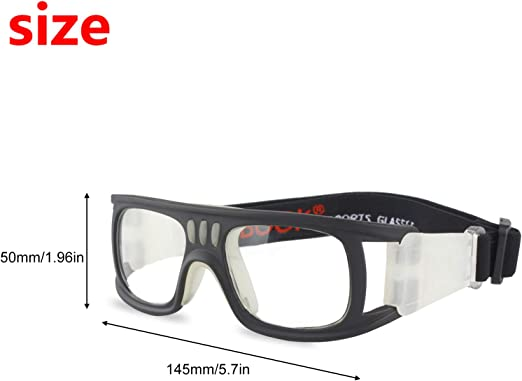 Chalkalon Safety Glasses Sports Protection Glasses Explosion-Proof Tennis Goggles There Impact and Spray Resistance Basketball Glasses Football Sports Glasses