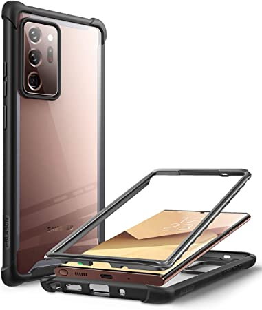 I Blason Transparent Case For Samsung Galaxy Note 20 Ultra 6 9 Inches 5g Mobile Phone Case Bumper Case Robust Protective Cover Ares Without Screen Protector 2020 Edition Black Elektronik