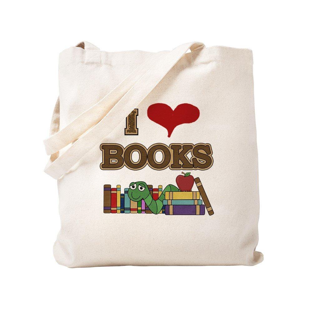 正規激安 CafePress Books – I Love Books – S ナチュラルキャンバストートバッグ、布ショッピングバッグ Love M ベージュ 09613784456893C B0773TK5DZ S S, バスケットと収納の店ラタンハウス:6774c37f --- arianechie.dominiotemporario.com
