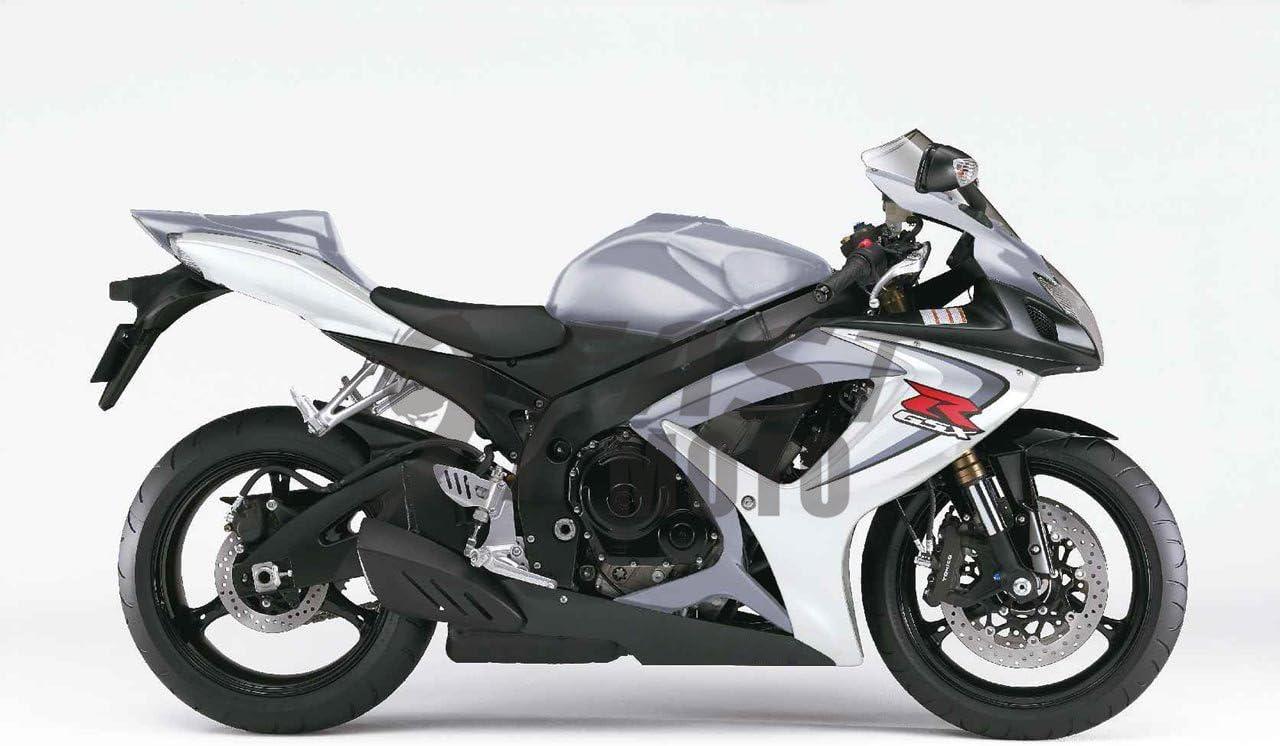 Blue /& Red 9FastMoto Motorcycle Decals Sticker for suzuki 2006 2007 GSX-R600 GSX-R750 K6 06 07 GSXR 600 750 K6 Motorbike Racing Fairing Decal
