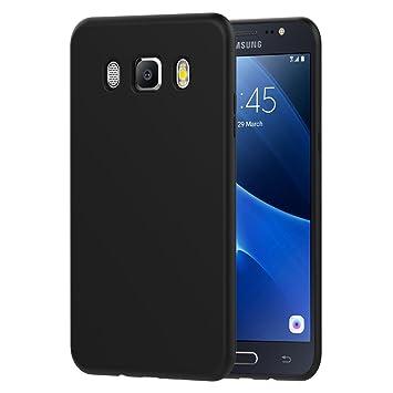 iVoler Funda Samsung Galaxy J7 2016, Slim Fit Samsung Galaxy J7 2016 Funda Carcasa Case Bumper con Absorción de Impactos y Anti-Arañazos Espalda Case ...