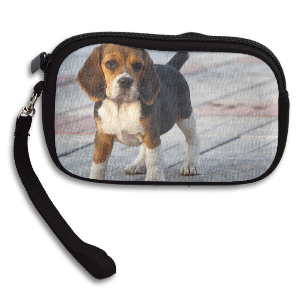 100% Polyester Coin Purses, Beagle Puppies by USYOYOGA