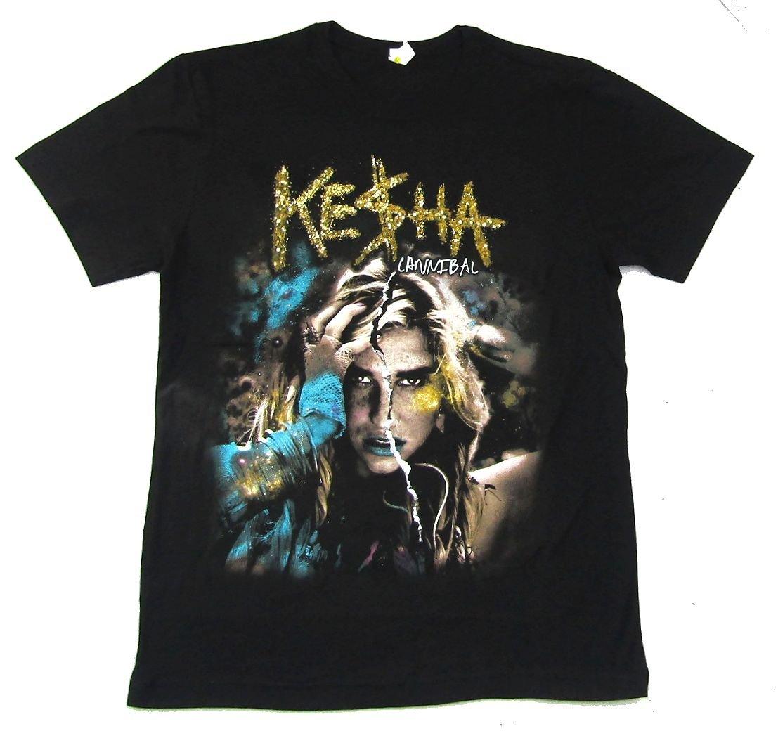 Kesha Ke Ha Cannibal Get Sleazy 2011 Tour Black T Shirt