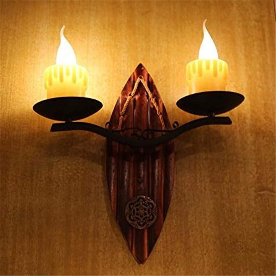 Vintage Chandelierwall Light Sconce E26 27 Base Wall Lamp Candle Lamp Creative Retro Cafe The Gallery Wall Lamp