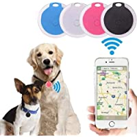 $21 » Askfairy Mini Dog GPS Tracking Device Locator Round Portable Bluetooth Intelligent Anti-Lost Alarm Device for Luggages/Kid/Pet