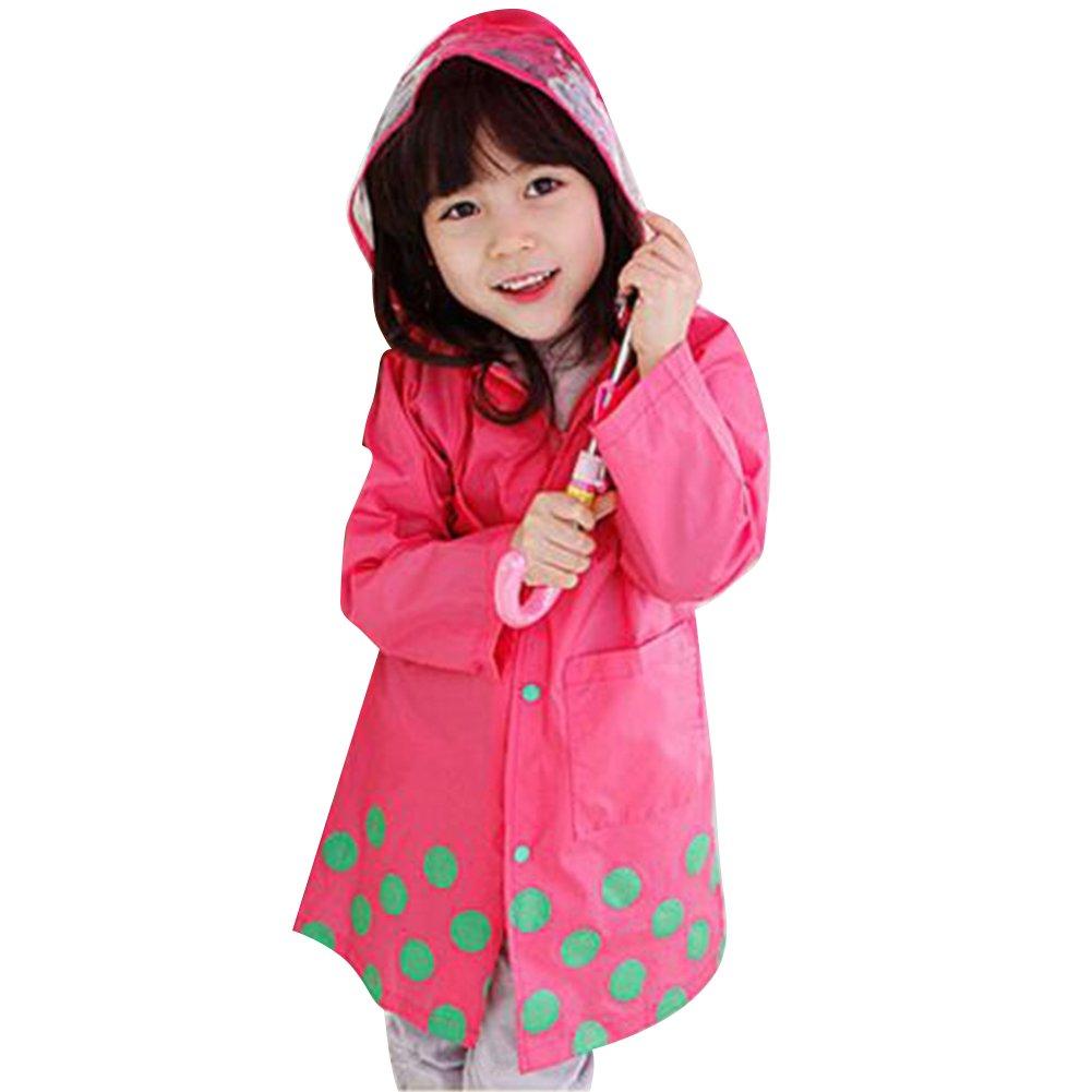 Deylay di Bambini Svegli Cartton Raincoat Chirldren Escursionismo Poncho (blu) S / 80-90 Deylay Network Technology Ltd N160502A-D11