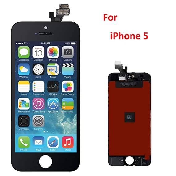 buy online 18eab 101a6 iCracked iPhone 5 Screen Replacement Kit (Black)