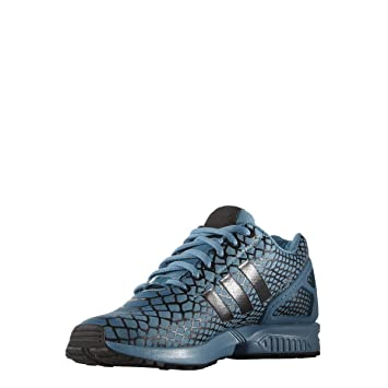 3311cfdc6b961 Adidas Originals ZX FLUX TECHFIT Blue Men Sneakers Shoes  Amazon.co ...