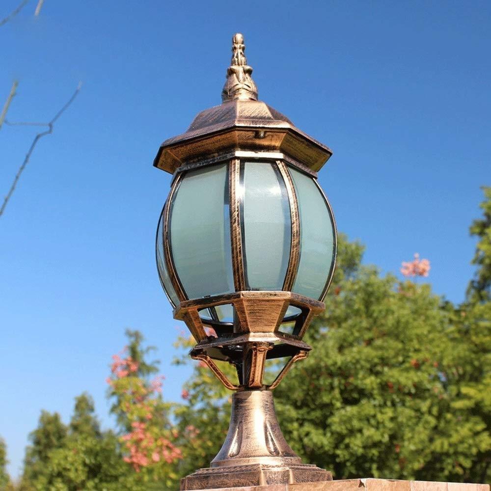 ヨーロッパE 27屋外ドア列照明ガーデンヴィラガーデン防水ライト、廊下、フェンス、屋外照明装飾照明 PingFanMi B07SCJYBHN