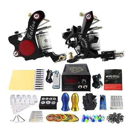 LregonXawk Kit Completo De Tatuaje Barato 2 Ametralladoras De ...