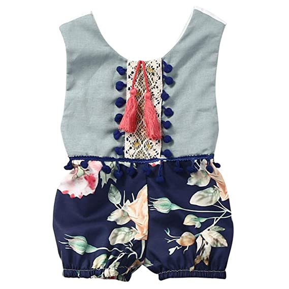 Wang-RX Cute Newborn Toddler Infant Kids Baby Girls Floral ...