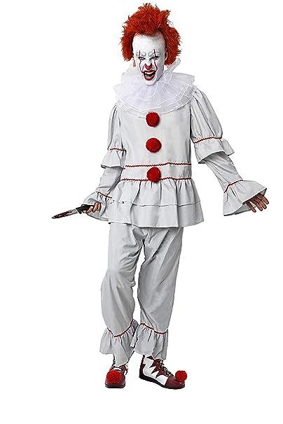 DM Disfraz de Payaso Diabólico/Asesino. Incluye: Camisa ...
