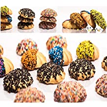 Delicious Home-style Italian Cookies, Assorted variety, Perfect for - Christmas, Valentines Day or any Holiday - Gift - Kosher Parve - Lactose Free, 1 LB