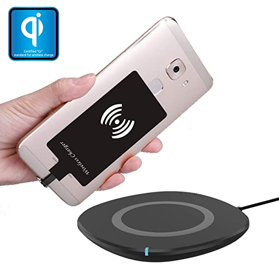 Amazon.com: Wireless Charger Pad Station & Qi Charging ...