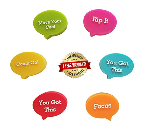 Motivational Slogans - Amortiguadores de Tenis (6): Amazon ...