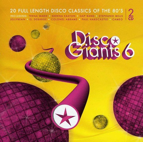 PAUL HARDCASTLE - Disco Giants 6 20 Full Length Disco Classics Of The 80