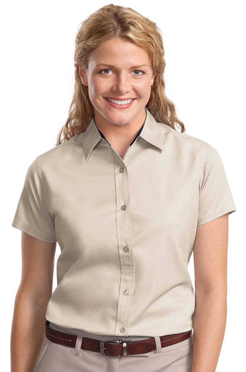 Port Authority Women's Wrinkle Resistance Shirt Port Authority L508