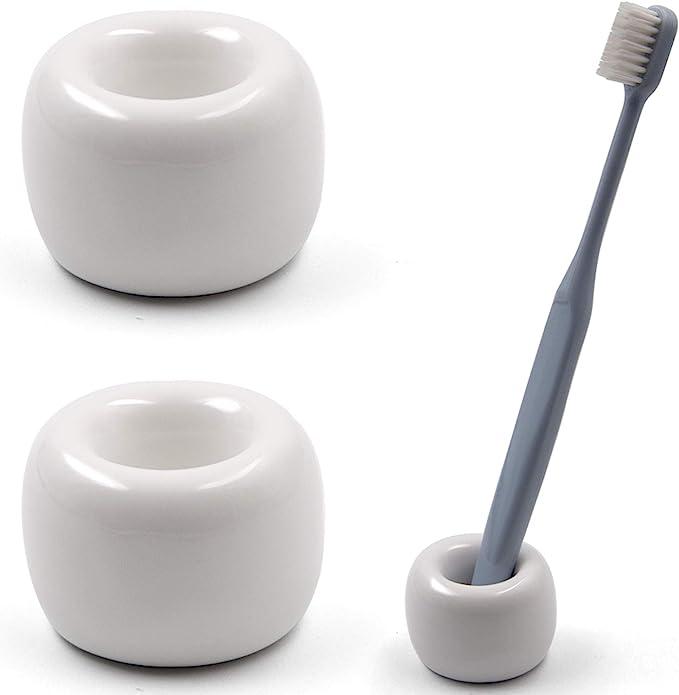Air moon Mini Ceramics Toothbrush Holder