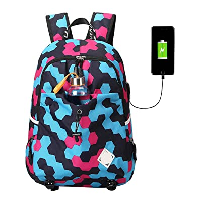 Amazon.com: Women Material Escolar Mochila Quality Brand Laptop Bag School Backpack: Shoes