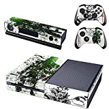 FreeSticker XBOX ONE Designer Skin Game Console + 2 Controller Decal Vinyl Protective Covers Stickers - Metal Gear Solid V Ground Zeroes 5 new Scarface Blackbeard Eye Patch Pirate