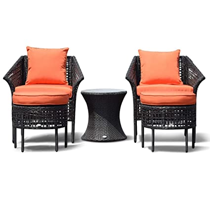 Image Unavailable - Amazon.com : MD Group Rattan Dining Sets Patio Leisure Furniture