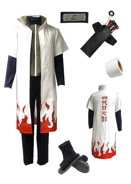 Amazon.com: Naruto Namikaze Minato Disfraz de Halloween ...