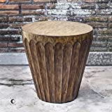 Dova Drum Accent Table
