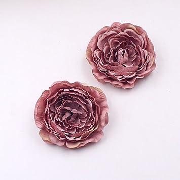 Amazon Com Artificial Silk Flower 9cm Tree Peony Head For Wedding