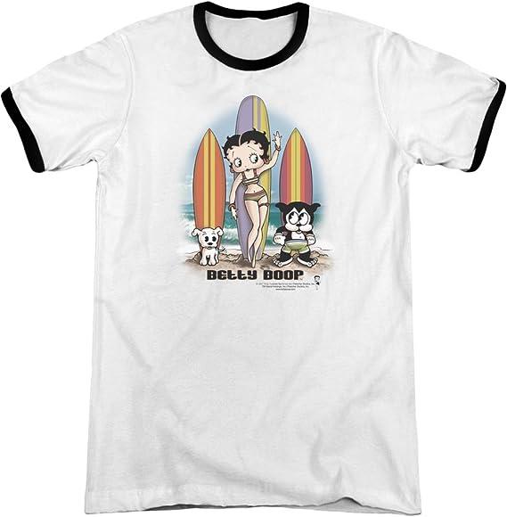 MMM Merchandising Betty Boop Mens My Way Long Sleeve T-Shirt