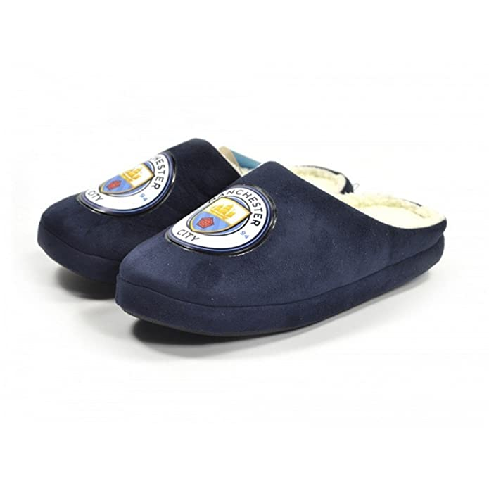 Zapatillas del Manchester City Football Club. Manchester City F.C. Man City  - Zapatillas de estar Por casa de Man City Para Nià 7910a34b4e474