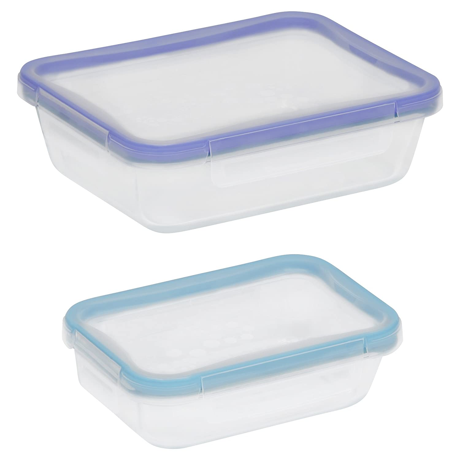 Snapware4-Piece Total Solution Rectangle Food Storage Set, Glass