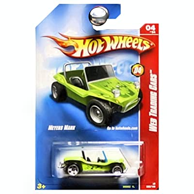 Hot Wheels 2008 Web Trading Cars Meyers Manx Dune Buggy Green: Toys & Games