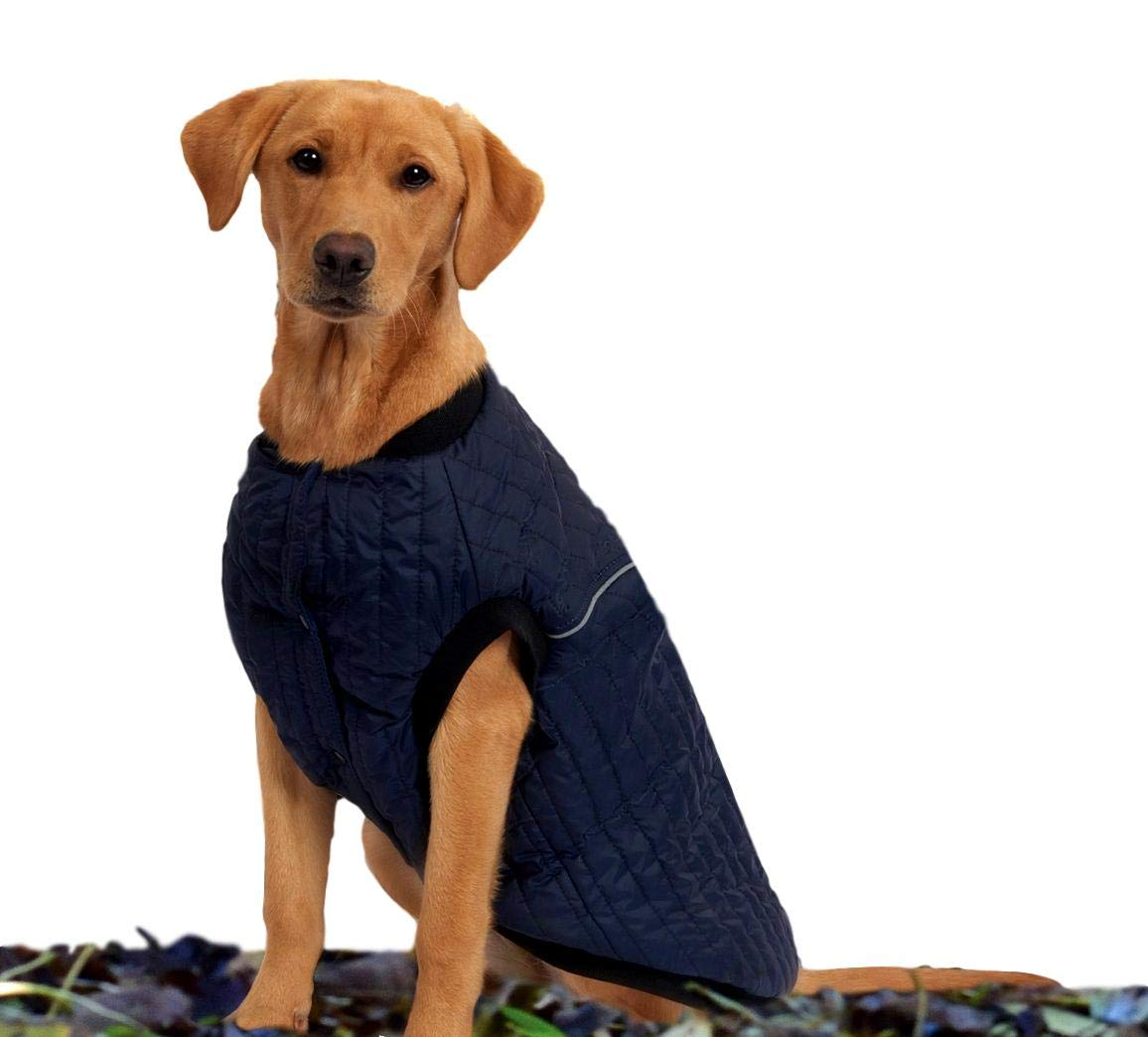 Navy 32\ Navy 32\ Weatherbeeta Puffer Dog Coat, Navy, 32