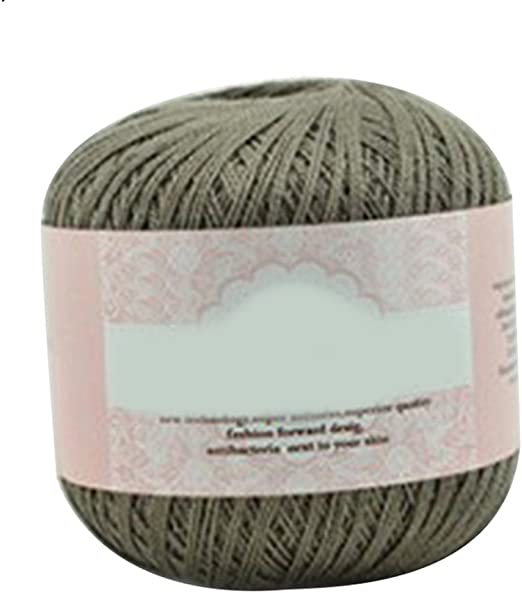 Bluelans Cable de algodón mercerizado hilo bordado de hilo para ...