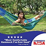 Hammocks Rada Handmade Matrimonial Size Yucatan Hammock - Carribean Breeze