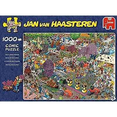 Jumbo 19071 Flower Parade Jigsaw Puzzle: Toys & Games
