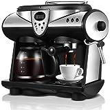 Huaishu Automatic Coffee Machine Bean To Cup 1.5L 1850W 12 Cup Black