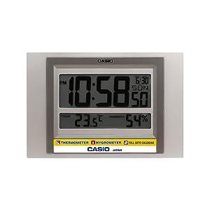 Casio Square Resin Digital Wall Clock (19.5 x 29 x 2.4 cm)