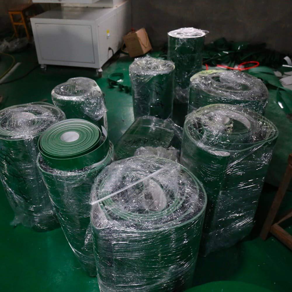 Fevas (Customized Conveyor Belt)800x100x3mm PVC Green Food Grade Light fFat Line Industrial Conveyor Belt