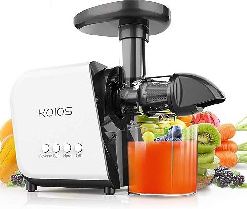 KOIOS Slow Masticating Juicer Extractor Machines 60 dB