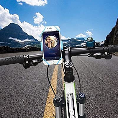 YIGER Bike Mount holder 360 Degree Rotation Smartphone Bicycle Mount Adjustable Handle Bar Plastic Smart Phone Holder for IPhone 6 Plus 6S etc